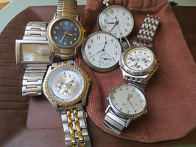 used watches/parts lot