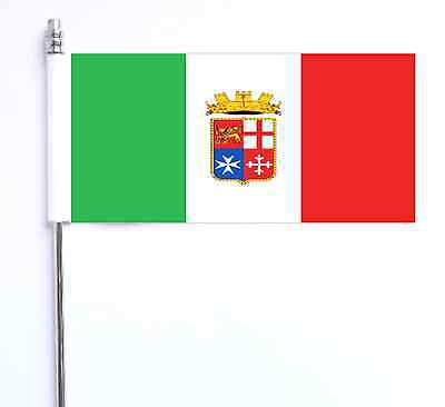 Italian Navy Ensign Ultimate Table Flag