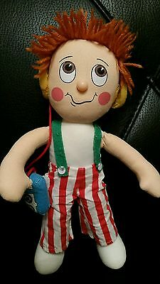 THE RAGGY DOLLS vintage 1980s toy HI-FI tv character soft stuffed doll