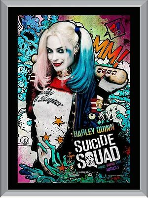 Suicide Squad - Harley Quinn A1 To A4 Size Poster Prints