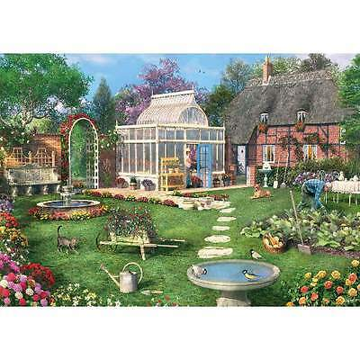 NEW! Clementoni The Conservatory 1500 piece nostalgic country jigsaw puzzle
