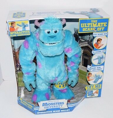 Disney Pixar Monsters University INTERACTIVE SCARE SULLEY New! Spin Master