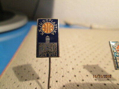 Basketball Club JUGOPLASTIKA Split Croatia pin