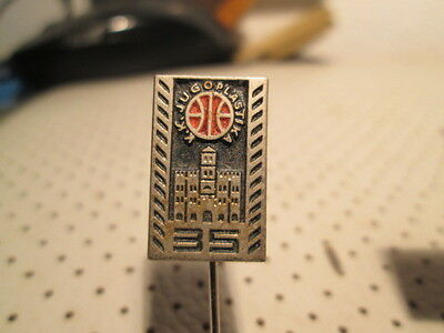 Basketball Club JUGOPLASTIKA Split Croatia pin badge 35 years No.3