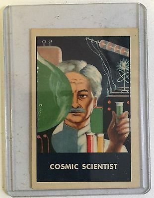 F280-3 Chex Cereal, Cosmic Scientist, 1950's, Secret Code Master.