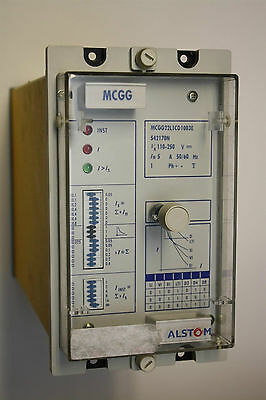 GEC Alstom MCGG22L1CD1003E Overcurrent Relay