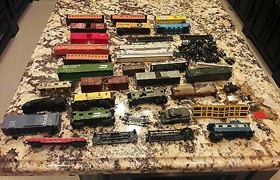 "Vintage 70s Electric Train Parts ""Some Rare"""