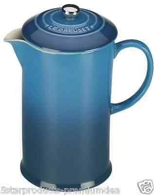 New Le Creuset French Coffee Press Cup Cups Serve Maker Beans Stoneware Boiling