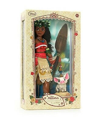 Disney Store Limited Edition Moana Doll 17""