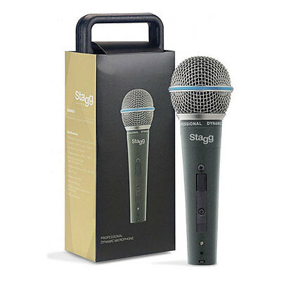 Stagg SDM60 Dynamic Microphone, with 5m XLR Cable