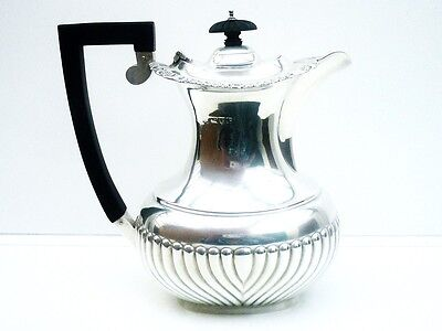 Silver Hot Water Pot, Sterling, ANTIQUE, Hallmarked CHESTER 1915