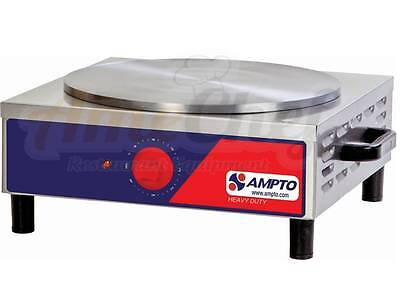 New Commercial Professional Crepe Maker, Single , ETL Listed, MPE, AMPTO