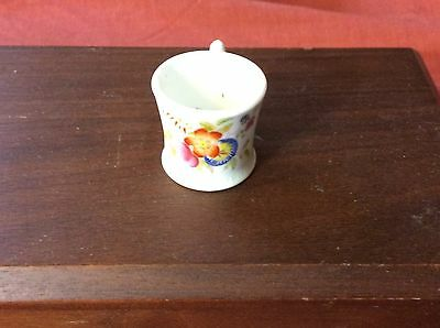 Early 19th Century Soft Paste Porcelain MIniature Hand painted Cup