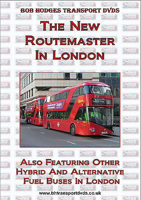 The New Routemaster In London Plus Other Hybrid & Alternative Fuel Buses