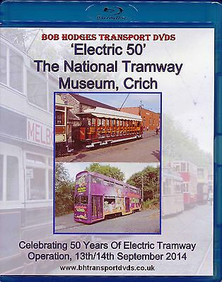 Electric 50 Bluray Disc, National Tramway Museum Crich 50th Anniversary, 2014.
