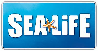 2x Sea Life Centre Tickets For Manchester in December/January 2017