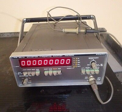 Philips Pm6673_Pm6673/011_Pm Universal Frequency Counter