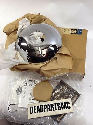 Harley NOS 44465-88a fxwg fxst fxdwg front hub moon cover cap