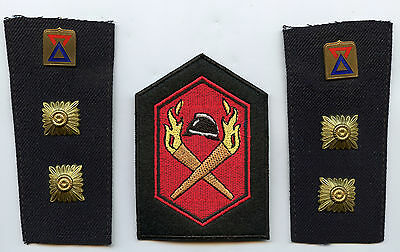 Finland Lot Shoulder Tabs Insignia and Patch Firefighters High Condition !!!
