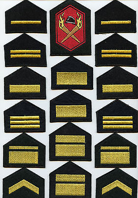 Finland lot Shoulder Tabs and Patch Firefighters High Condition !!!