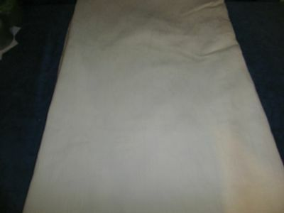 Thick & heavy cream double duvet cover no pillowcases LOT 203