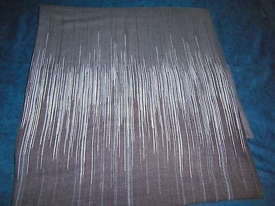 Liht brown /grey double duvet cover no pillowcases LOT 49a