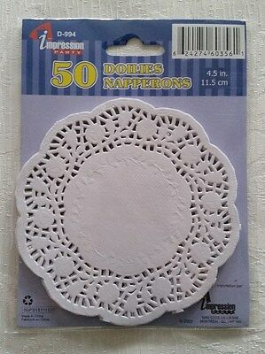 Doilies  (4.5 in  11.5 cm )