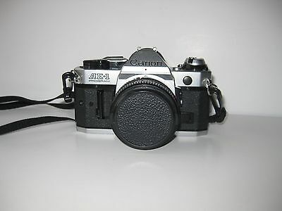 Vintage CANON AE-1 Camera with Canon 50 MM Lens - Used