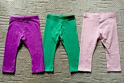 Girls Next Leggings Bundle Age 2-3 Pink Pair Are New ��
