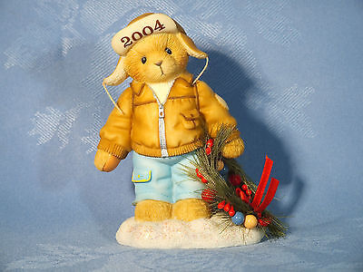 "Cherished Teddies. Knut. ""decorating The Holidays With Happiness"" 2004 Figure"