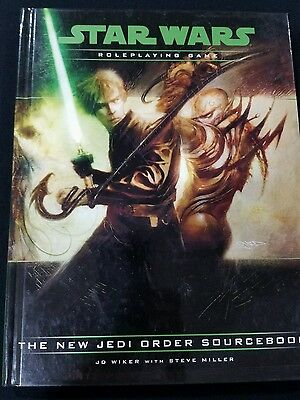 Star Wars Roleplaying Game Ser. Accessories: New Jedi Order Sourcebook by J. D.…