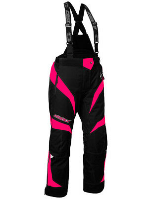 Castle X Womens Hot Pink/Black Fuel G6 Insulated Snowmobile Pants Snocross