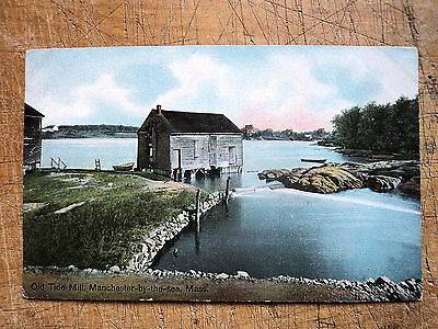 Old Tide Mill Manchester By The Sea Ma 1908s