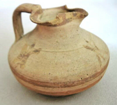 Cypriot Trefoil Pottery Juglet, 4th Century BC (Cypro-Classical II)