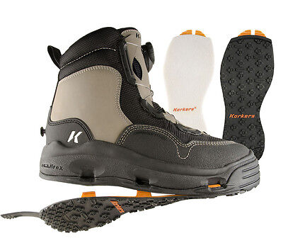 Korkers WhiteHorse Wading Boot with Felt & Rubber Soles