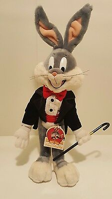 Bugs bunny stuffed animal 50 birthday collection disney toy collectible vintage