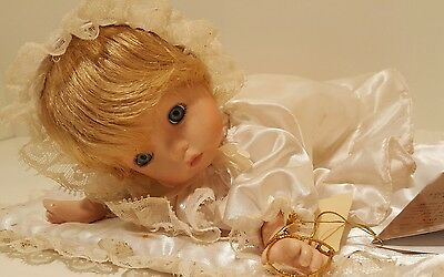 Seymour Mann porcelain doll vintage collectible white cute hand made painted