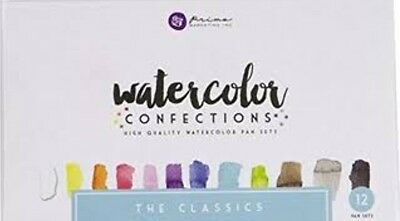 Prima Watercolor Confections High Quality Watercolor Pan Set The Classics