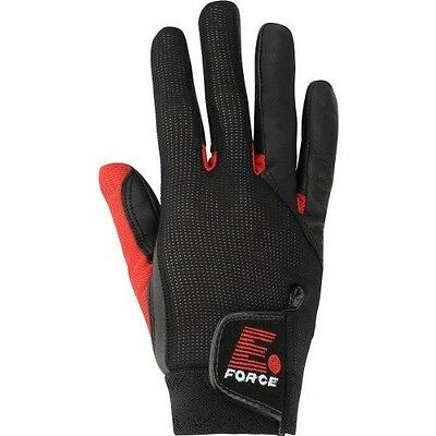 E-Force Weapon Racquetball Glove (Black/Red)-RXL