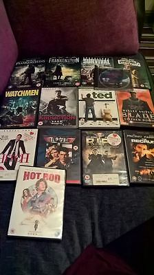 **Job Lot Of DVDs Films Movies Collection, Horror**