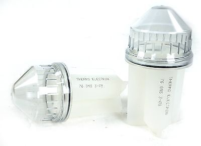 Set of 2 Thermo IEC Centrifuge 50ml Conical Tube Adapter Carrier 6560E