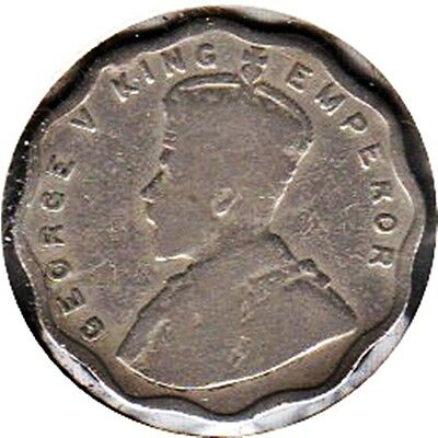 India 1924(C) King George Vi One Anna Coin (Km#513)