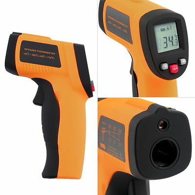 Nice Non-Contact LCD IR Laser Infrared Digital Temperature Thermometer Gun F6