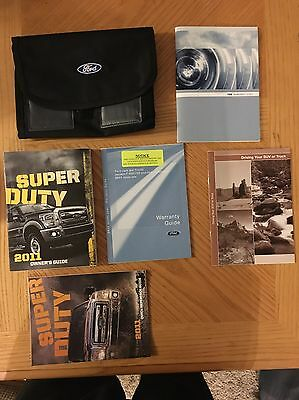 2011 Ford Super Duty Owners Manual