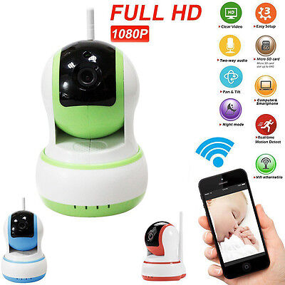 1080P HD Security Network IP Camera Night Vision WIFI Webcam Baby Monitor