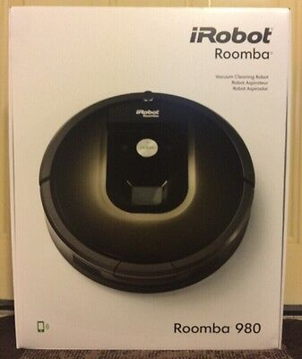 *NEW*iRobot Roomba 980 Vacuum Cleaning Robot 110v-240v R980020*FREE SHIPPING*