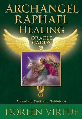 """archangel Raphael Healing Oracle Cards"" Doreen Virtue"