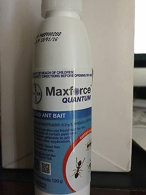 MAXFORCE QUANTUM Liquid Ant Bait Killer 120g Imidacloprid Professional Strength