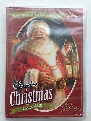 Classic Christmas Cd Rom By Katy Sue Designs New Unopened