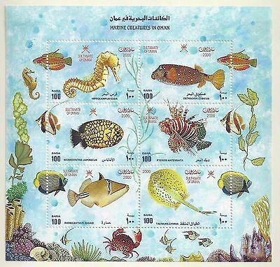 Oman 2000 2002 Collection Of 58 Mint In Complete Sets On Blocks & Souvenir Sheet